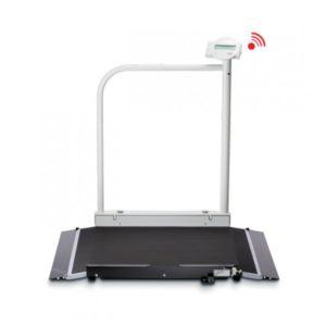 Plateforme de pesée électronique sans fil Seca 677 pour fauteuils roulants