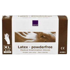 Gants Latex non poudrés transparents Taille XL (9-10)
