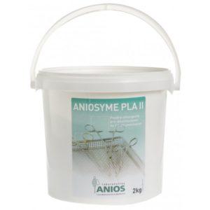 Aniosyme PLA II poudre détergente, pré-désinfectant de l'instrumentation