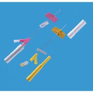 BD Saf-T-Intima™ Cathéter de sécurité de type microperfuseur Y