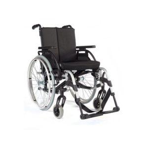Fauteuil roulant manuel en aluminium Breezy RubiX² et RubiX² XL